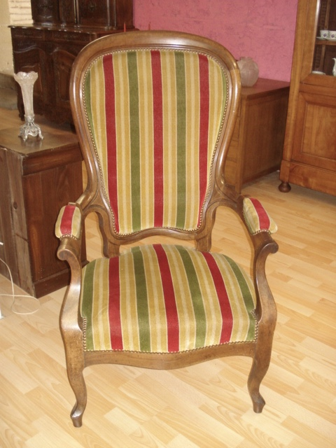 Claude Merlet ANTIQUITES /BROCANTE » Archive du blog » FAUTEUIL ...